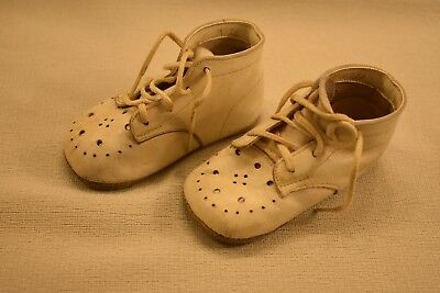 Vintage Leather BABY SHOES In V VG+++  Condition