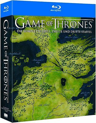 GAME OF THRONES, Staffel 1-3 (15 Blu-ray Discs, Schuber) NEU+OVP