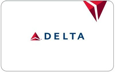 $100 Delta Airlines Gift Card  (E-card)