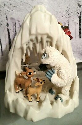 Enesco Rudolph And The Island Of Misfit Bumble's Ice Cave 2002 *Rare* #104214