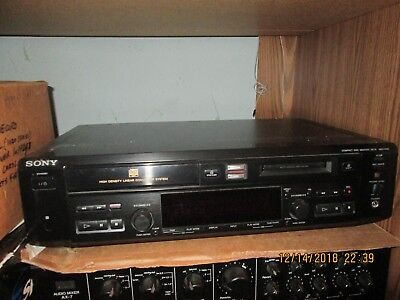 Sony MXD-D40 Compact Disc MiniDisc Deck CD Player AS-IS