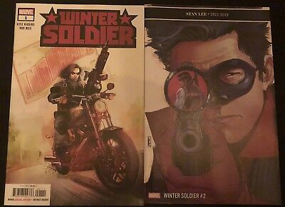 Winter Soldier #1 & #2 (2018) ** 1St Appearance ** High Grade * Stan Lee Tribute