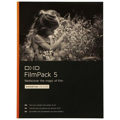 DxO Labs FilmPack 5 Essential Edition Image Processing Software