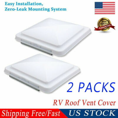 "NEW 14""x14"" Universal Trailer RV Roof Vent Cover Camper RV Trailer Motorhome Lid"