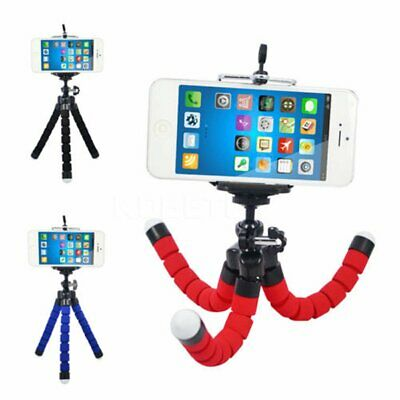 Mini Flexible Stand Octopus Tripod Mount Universal + Free Holder For Smart Phone