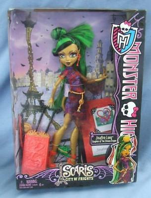 Monster High Doll Scaris City Of Frights Jinafire Long (New)