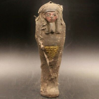 Fine Antique Egyptian Faience Ushabti (Shabti) Statue Figure..ONE OF A KIND
