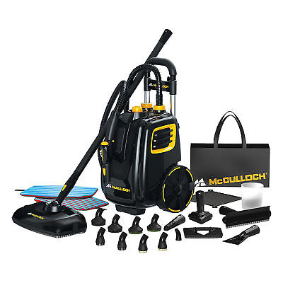 1McCulloch Deluxe Canister Deep Clean Multi-Floor Steam Cleaner System | MC1385