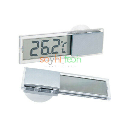 Mini Awesome Digital LCD Display Car Indoor Room Temperature Meter Thermometer