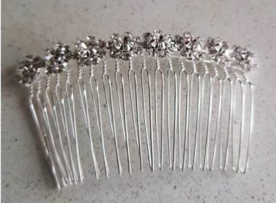 Beautiful and Delicate Crystal Bridal Hair Comb