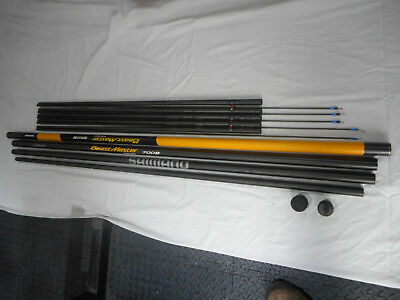 Tube and butt section only    NEW Shimano BeastMaster 850B Margin Pole Holdall