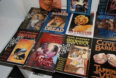 Clive Barker Graphic Novel Collection - 11 books , hellraiser.