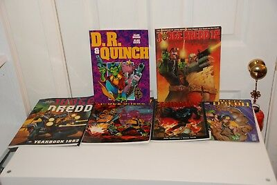 2000 AD Judge Dredd Graphic Novel Collection .