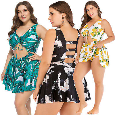 Womens Swimwear Swimsuit Bathing Suit Monokini Bikini Floral Beachwear Hollow