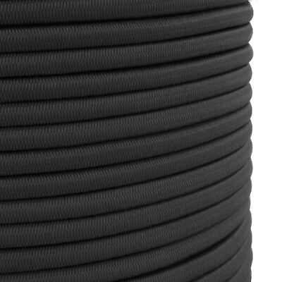 10mm Elastic Shock Cord, Bungee Rope, Tie Down, Black, Strong, Heavy Duty B