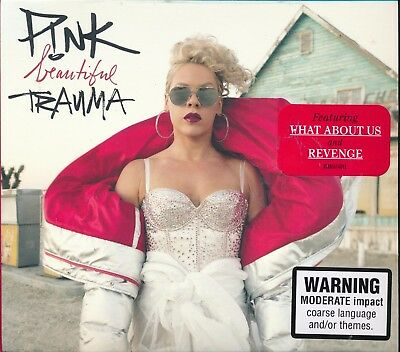 Pink P!nk Beautiful Trauma CD NEW What About Us Revenge Barbies I Am Here