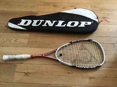 Dunlop Aerogel Tour Plus Squash Racket With Case