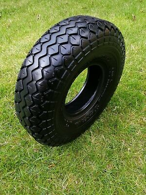 Pneumatic Black Tyre for mobility scooter / power chair 4.00-5 C 154 400 x 5