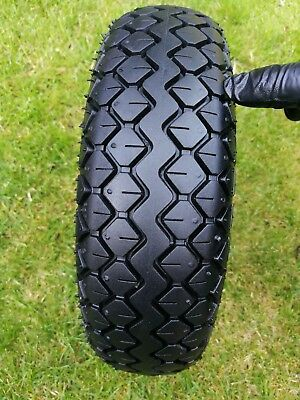 Pneumatic Black Tyre for mobility scooter /power chair 4.00-5 C 154 400 x 5 worn