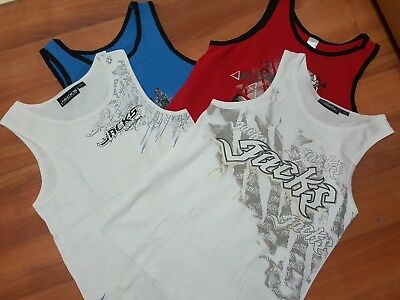 Boys BULK clothing size 14 and 16 singlet tops Jacks and Target