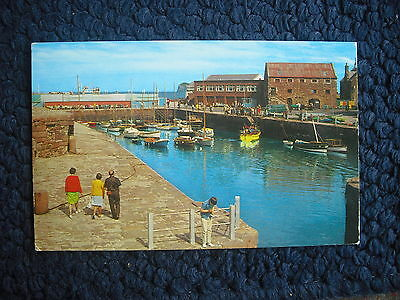 Postcard The Harbour, North Berwick, Scotland