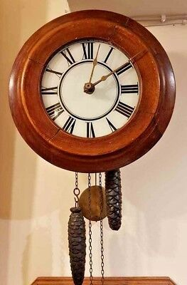 Antique Postman's Clock