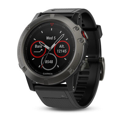 Garmin Fenix 5X Sapphire Multisport GPS Sports Watch Activity Tracker Slate Grey