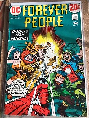 1972 DC COMICS THE FOREVER PEOPLE #11. Jack Kirby