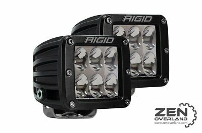 Rigid Industries LED Light pods PAIR - D2 Pro Series 502313 Driving Spot 4,752lm