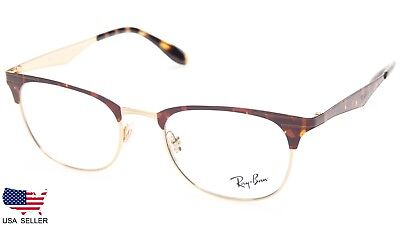 a5a56ac192 NEW Ray Ban RB6346 2917 GOLD   TORTOISE EYEGLASSES GLASSES RB 6346 50-19-