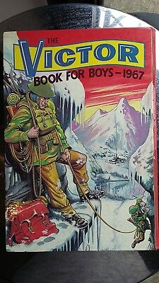Vintage VICTOR Annual Book for Boys 1967