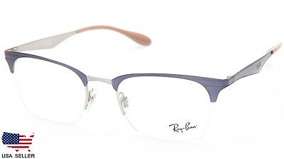 d52934532c8 NEW Ray Ban RB6360 2918 VIOLET SILVER EYEGLASSES GLASSES 6360 51-20-145  B39mm