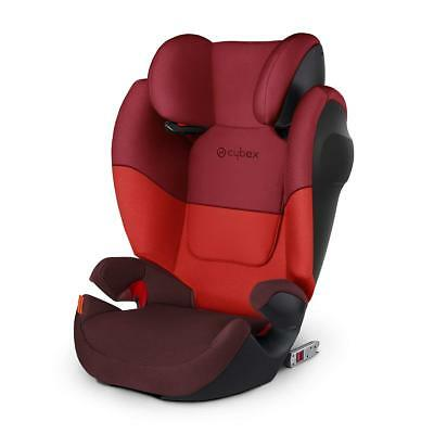 CYBEX Silver Solution M-Fix SL 15-36kg Group 2/3 with & without Isofix Rumba Red
