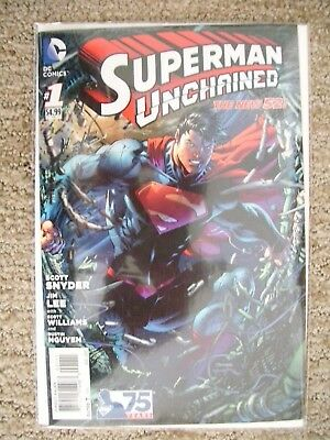 Superman Unchained # 1 DC Comics Jim Lee art 1st print