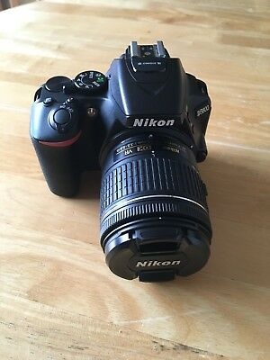 NIKON D5600 Digital SLR with 18-55mm VR Kit Lens in MINT condition, hardly used