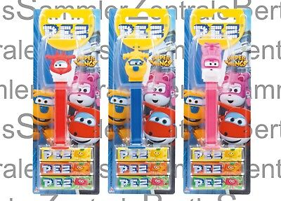 PEZ - SUPER WINGS - set of 3 - Mint on Card !!!