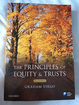 The Principles of Equity & Trusts by Graham Virgo (Paperback, 2016, 2nd edition)