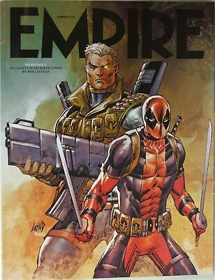 Empire Magazine Summer 2018 Subscriber copy. Deadpool 2 ROB LIEFELD Cover
