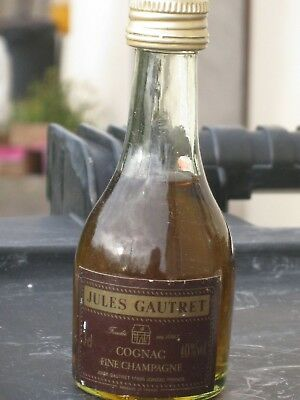 mignonnette OLD MINIATURE COGNAC mini bottle gautret