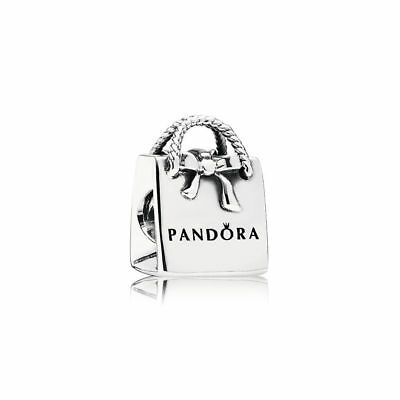 New Authentic Genuine  SILVER PANDORA Shopping BAG  charm  791184