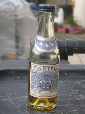 mignonnette OLD MINIATURE COGNAC mini bottle martell