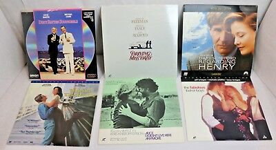 Love/Family/Classical Film Laserdisc Lot