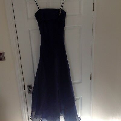 Simple & Stunning Orsay Evening Gown & Wrap 32'' Chest 26'' Waist. 56'' Long 6/8