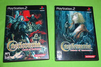 Empty Replacement Cases  Castlevania: Lament of Innocence Sony PlayStation 2 PS2