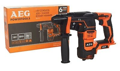 GENUINE~AEG~18V~CORDLESS~SDS+ 3-MODE~ROTARY HAMMER DRILL~unit only~RRP £185~NEW~