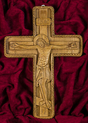 Byzantine Cross Christian Orthodox Crucifix Jesus Christ Aromatic beeswax Gift