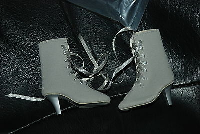 Gray Suede Lace Up Boots for 21'' Cissy Doll by Madame Alexander
