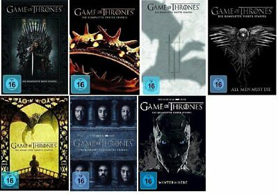 Game of Thrones DVD Staffel 1-7 (1,2,3,4,5,6,7) neu in Folie eingeschweißt neu