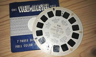 Viewmaster Reel 946 Roy Rogers in The Holdup by Sawyers 1953