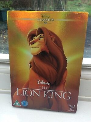 THE LION KING Disney Classic No.32 Film - Brand New & Sealed DVD With Slipcase